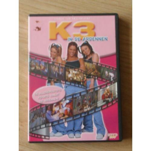 DVD: K3 in de Ardennen