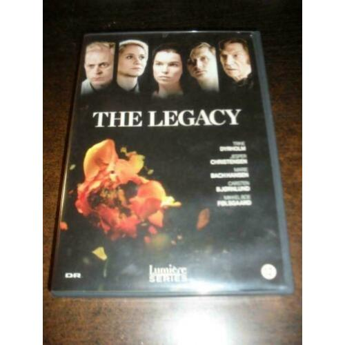 The legacy Pernilla August 5x dvd-box
