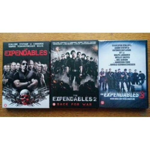 The Expandables 1-3 -- Sylvester Stallone
