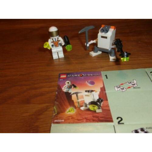 Lego Mars Mission 5616-1 Mini Robot uit 2008 (2)